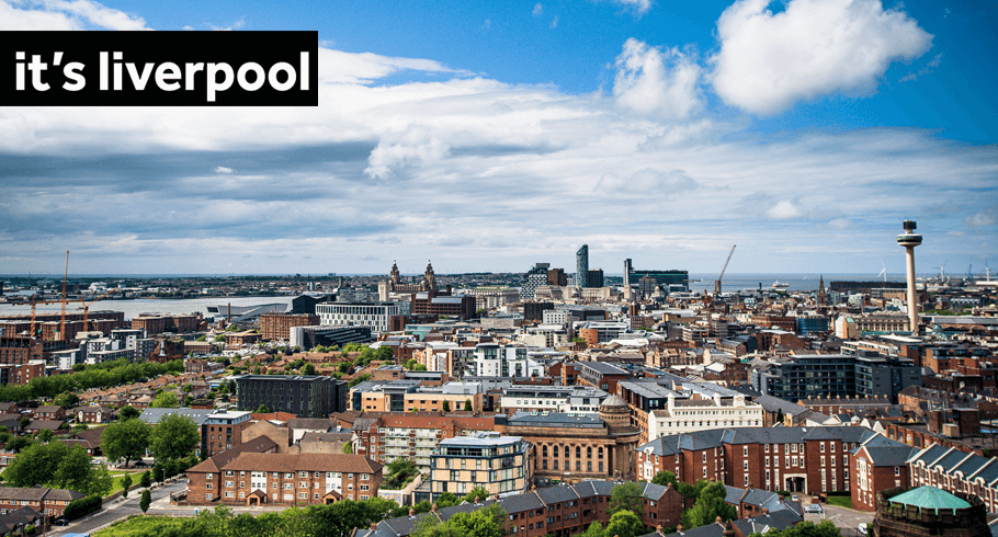 View of Liverpool from Liverpool Cathedral