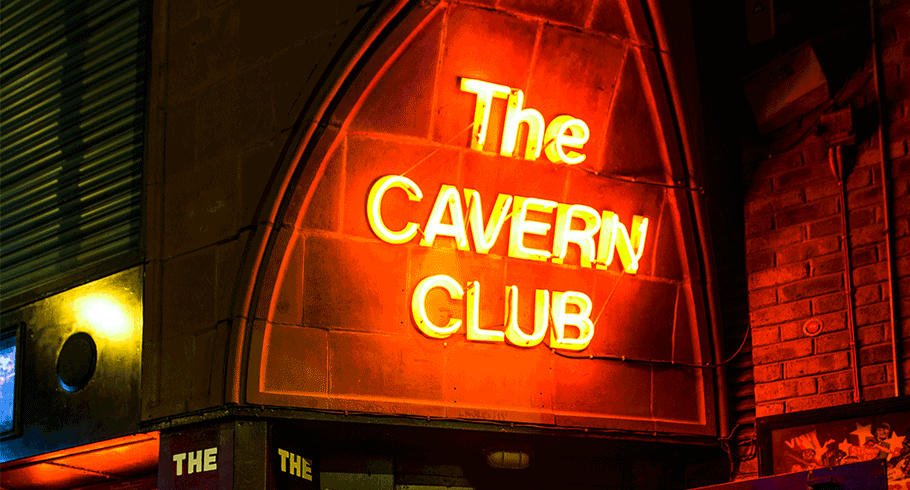 The Cavern Club Exterior on Mathew Street