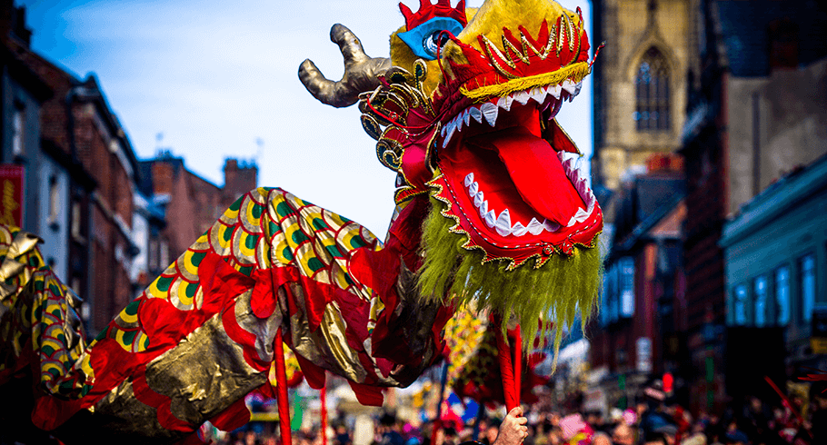 The Year of the Dog will be celebrated across Liverpool's historic Chinatown