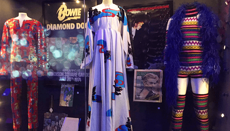 David Bowie Outfits in British Music Experience