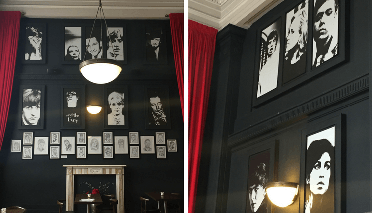 Famous Faces Adorn the Walls at the BME Cafe