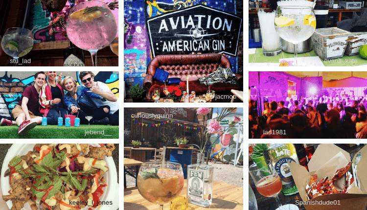 Some of our favourite Gin Garden pics of 2018 from Instagram