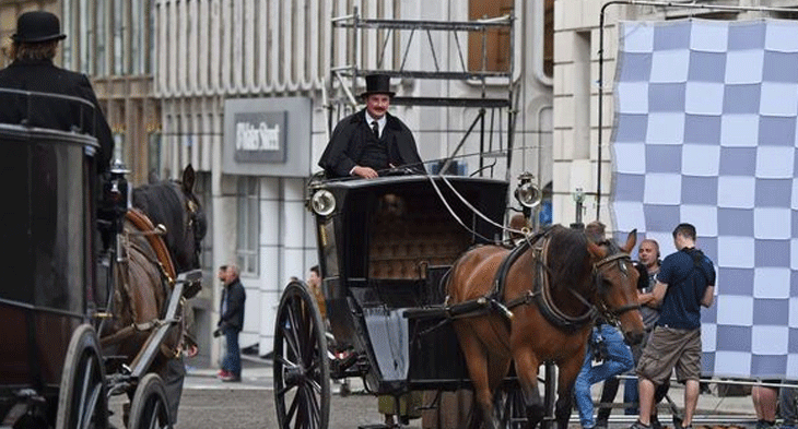 Filming Houdini and Doyle in Liverpool