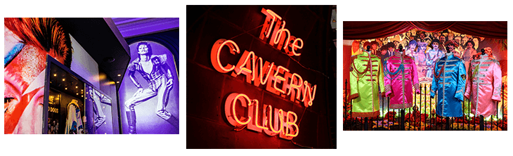 Cavern Club, British Music Experience and Beatles Story