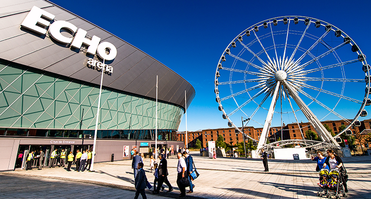 Echo Arena is a venue of British Style Collective