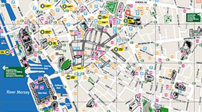 Liverpool City Map | VisitLiverpool.com on