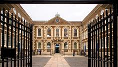 Photo credit: Brian Roberts Photography - The entrance to Bluecoat from the gates.