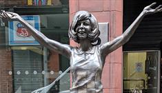 Cilla statue on Mathew Street