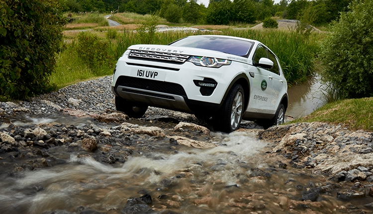 Land Rover Experience Driving