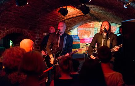 Band at the Cavern Club