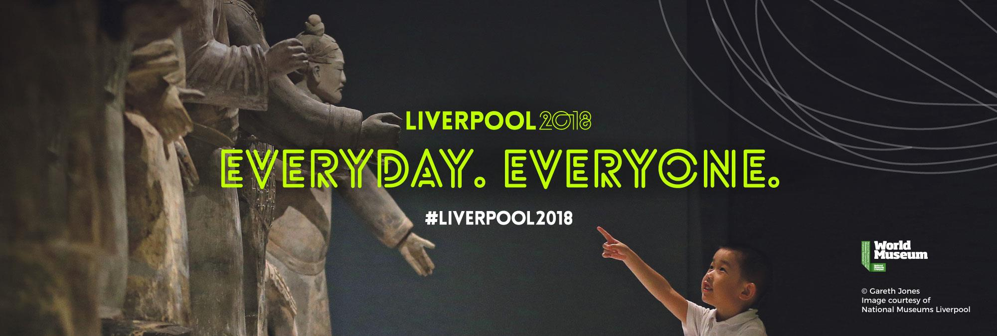 Everyday, everyone . Book a city break to Liverpool.