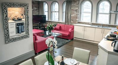 Contemporary 4 star apartments, located in the heart of Liverpool
