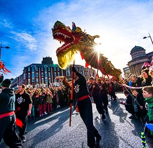 Celebrate Year of the Monkey in Liverpool