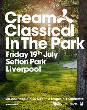 Thumbnail for Cream Classical in the Park 19 JULY