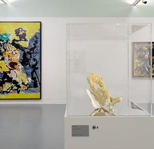 Jackson Pollock: Blind Spots Exhibition at Tate Liverpool