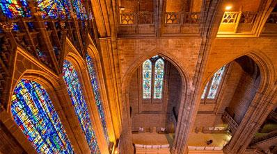 Liverpool Cathedral is a special place to visit and the largest in Britain