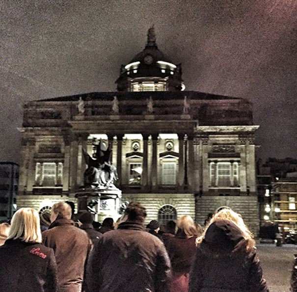 Explore a Shiverpool Ghost Tour