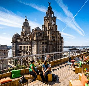 Discover Goodness Gracious, the best rooftop bar in Liverpool