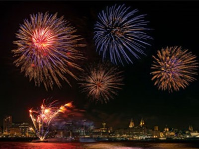 One of the UK's most successful firework companies will light up the skies above both sides of the River Mersey for this year's November 5th celebrations