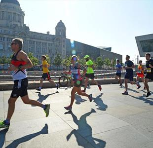 Rock n Roll Marathon on Liverpool Waterfront