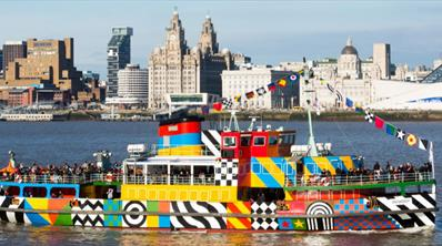 Do the Double | Experience the ultimate sightseeing tour of Liverpool with Mersey Ferries and City Explorer Open Top Bus.