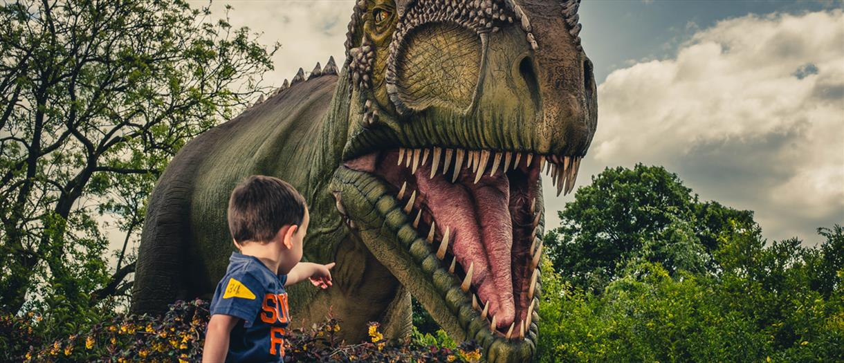 Thumbnail for Dinosaurs at Chester Zoo
