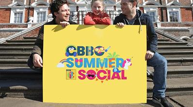 Sam and Mark will be at CBBC Summer Social