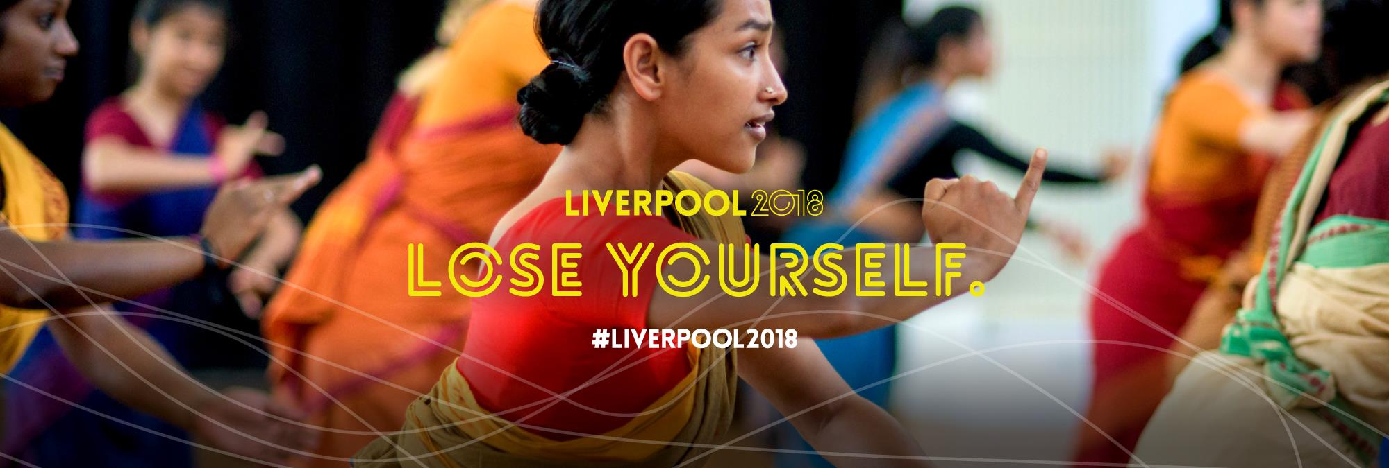 Lose yourself in Liverpool 2018