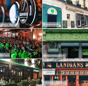 St. Patrick's Day in Liverpool