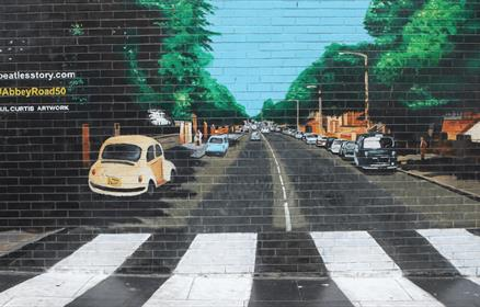 Abbey Road Mural