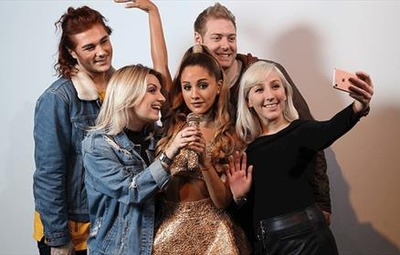 Ariana Grande at Madame Tussauds