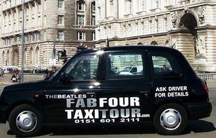Beatles Fab Four Taxi Tours