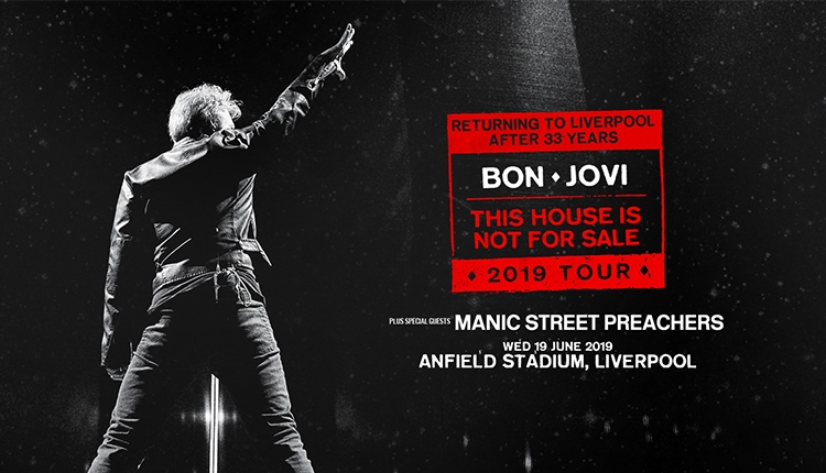 Bon Jovi This House is Not For Sale Tour 2019