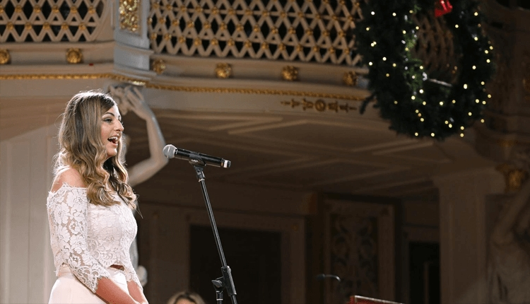 Danielle Thomas performs at the Concert Room St George's Hall