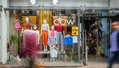 Shop front of Cow Liverpool