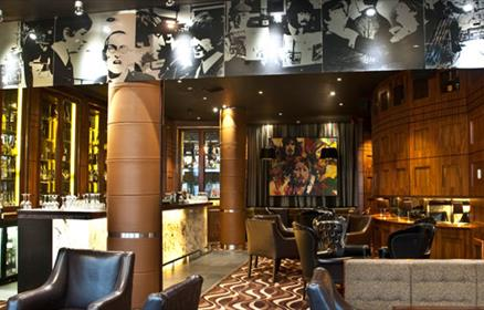 Bar Four at the Hard Days Night Hotel Liverpool