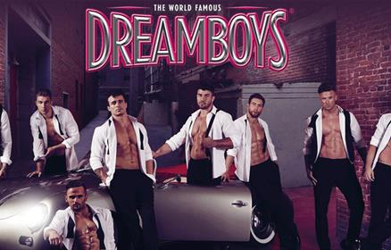 The Dreamboys Strip Show at Liverpool Empire