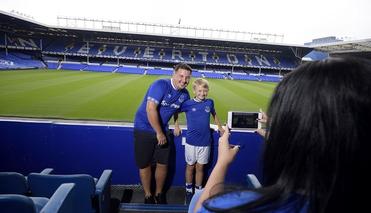 Everton Football Club Goodison Park Stadium Tour