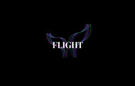 Flight River of Light Graphic