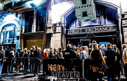 LGBT Nightclub Heaven on Victoria Street