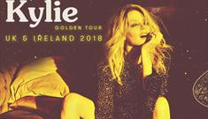 Kylie's Golden Tour comes to Liverpool!