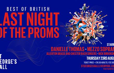 Last Night of the Proms at St George's Hall