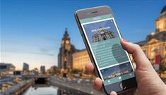Download the app Handheld Mobile Video Tours to Explore Liverpool