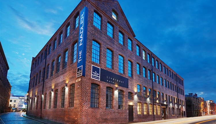 The nadler liverpool hotel in liverpool city visit for Smart city design hotel