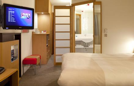 One of 209 bedrooms at Novotel Liverpool Centre.