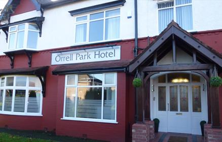 The Orrell Park Hotel is located in a quiet suburb of Liverpool with excellent transport links.