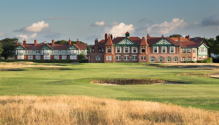 Royal Lytham Clubhouse