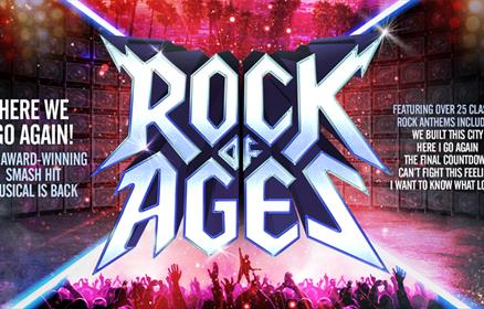 The smash-hit musical, Rock of Ages comes to Liverpool's Empire Theatre