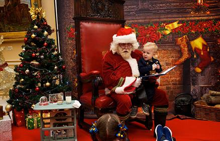 See the little ones faces light up this Christmas with the help of Santa himself!