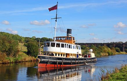Take a trip on the oldest working passenger steam tug, the Daniel Adamson